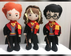Trio personagens Harry Potter