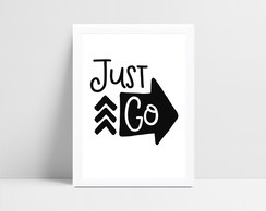 Quadro Digital Just Go