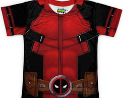 Camiseta Infantil Fantasia DeadPool