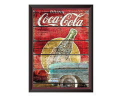 Quadro Decorativo Coca-cola
