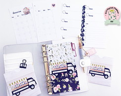 (ARQUIVO DIGITAL) KIT PLANNER SPRING AND FLOWERS PERSONAL