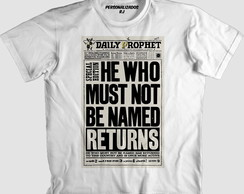Camisa HARRY POTTER - THE DAILY PROPHET
