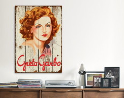 Quadro Decorativo GRANDE Greta Garbo
