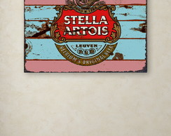Quadro Decorativo GRANDE Stella Rust