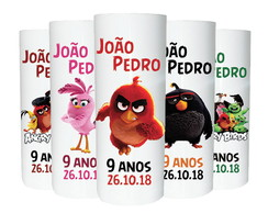 Copos Long Drink Angry Birds - Kit Pequeno