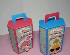 Caixa Nic Box Personalizada Tropical