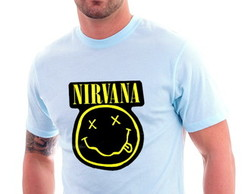 Camiseta Rock Nirvana