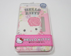 Capa Carteira Hello Kitty para Samsung Galaxy Note / E160