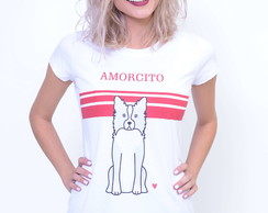 Camiseta Feminina Border Collie
