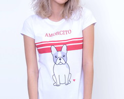 Camiseta Feminina Buldogue