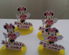 Tags 3 D caixa acrilica Minnie