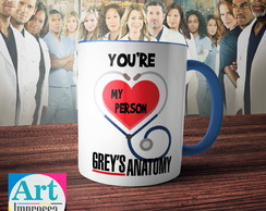 Caneca Grey's Anatomy - You re My Person