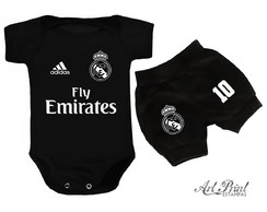 Conjunto Baby do Real Madrid