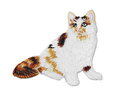 Patch de gato aplique termocolante Patches de gatos diy