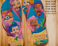 Chinelo Bubble Guppies.