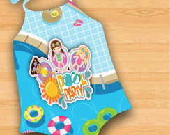 Body Infantil Pool Party - Festa na Piscina
