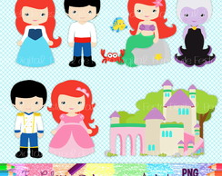 Kit Digital Princesa Ariel