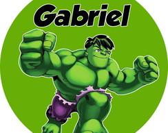 Adesivo Hulk Elo7