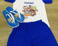 kit festa do pijama clash royale