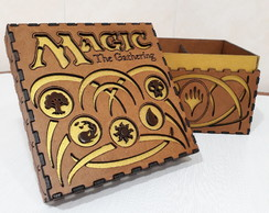 Box / Deck / Case / Caixa Magic - The Gathering P/ 600 Cards