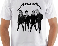 Camiseta Banda de Rock Metallica