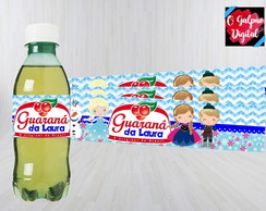 Rótulo de Guaraná Frozen