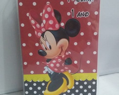 Estojo de Colorir Personalizado Minnie
