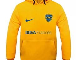 ... Blusa De Frio Moletom Boca Juniors Time Futebol - Promoção! 2a4ed24fac022