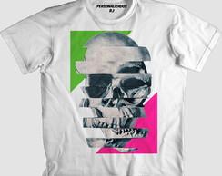 Camisa Caveira Itália  7af395bec3a16