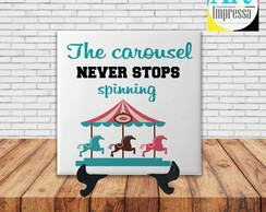 Azulejo Grey's Anatomy - The Carousel Never Stops Spinning