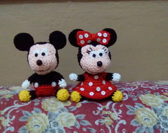 Mickey e Minnie Amigurumi