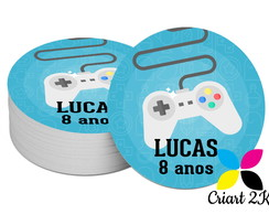 Tag de Agradecimento Video Game