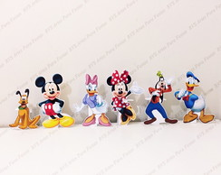 6 Displays de mesa - Mickey Mouse e sua turma