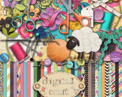 Kit Scrapbook Digital - Craft
