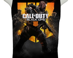 Camiseta Call of Duty Black Ops 4 - Regata