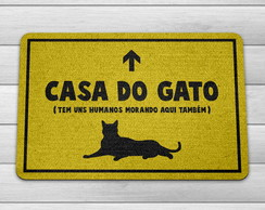 Capacho/Tapete - Casa do Gato