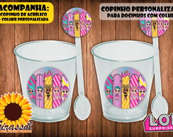 Copinho para doces - LOL SURPRISE!