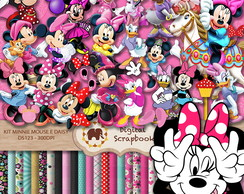 Kit Scrap Digital - Minnie Mouse e Daisy