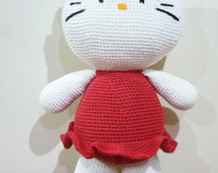 Hello Kitty grande em croche