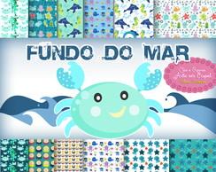 Kit Digital fundo do mar