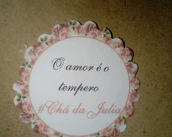 TAG TEMPERO DE AMOR - JULIA