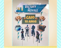Topo de Bolo Fortnite EXCLUSIVO