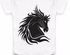 Body Infantil Cavalo Tribal