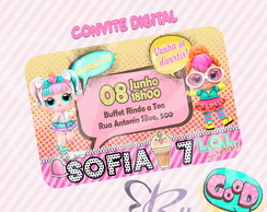 Convite Digital Boneca LOL Surprise
