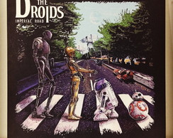 Quadrinho/Pôster - Star Wars The Droids