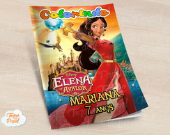 Revista colorir Elena de Avalor