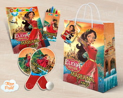 Kit Ping Pong + kit colorir Elena de Avalor