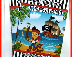 Revista de Colorir Pirata