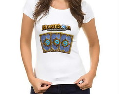 Camiseta Baby Look Hearthstone