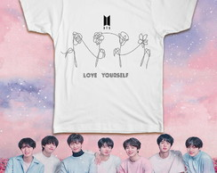 CAMISETA LOVE YOURSELF BTS KPOP